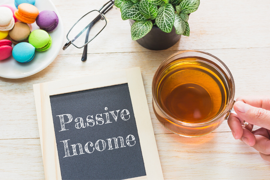 PassiveIncome- BookWebsite